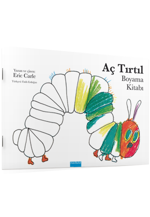 Ac Tirtil Boyama Kitabi Mavibulut Yayincilik Her Cocuga Iyi