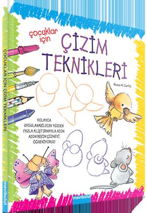 çocuklar Için çizim Teknikleri Mavibulut Yayıncılık Her çocuğa